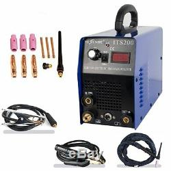 ITS200 2IN1 Interver IGBT DC TIG/MMA Welding Welder Machine & Consumable 230v