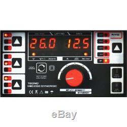 Inverter Halbautomatische Schweißgerät 200A MIG/MAG/WIG/MMA SYNERGIC 202 VRD DC