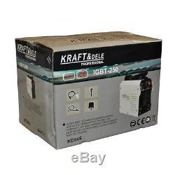 KD845 250A Welding Inverter Machine by Kraft&Dele Germania Profession IGBTMMAARC