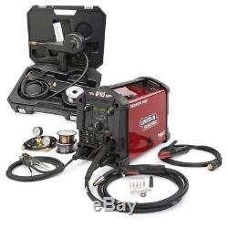 Lincoln Electric POWER MIG 210 MP Multi-Process Welder Aluminum One-Pak K4195-1