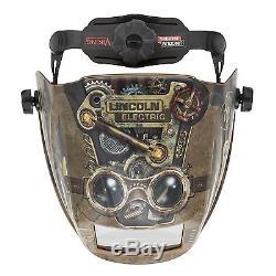 Lincoln Viking 3350 Series Steampunk Auto Darkening Welding Helmet (K3428-3)
