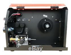MIG MAG Schweißgerät MIG-2000 Fülldraht MMA IGBT Inverter 230V 200A Schutzgas