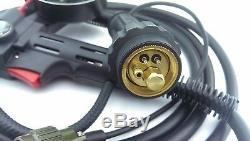 MIG Spool Gun 4 Meter 180 Amp -Euro Connection Aluminium Unimig style