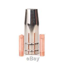 MIG Welder Inverter Gas / Gasless MMA 3-in-1 IGBT 240V 250 amp DC Machine ROHR