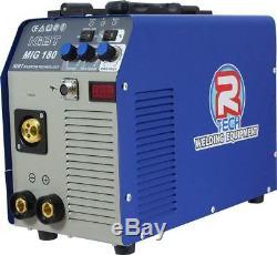 MIG Welder & MMA Welder 180AMP Inverter 240V R-Tech 0% Finance Available