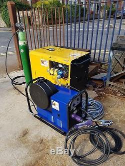 MIG Welder and Diesel Generator