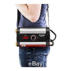 MMA Schweißgerät Mini E-Hand-Schweißgerät 200 A Elektrodenschweißgerät IGBT