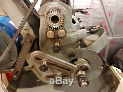 MYFORD ml7, METRIC Lathe with CLUTCH and MYFORD CABINET
