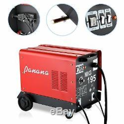 Mig-100/130 No Gas, 150/195 Gas & Gasless, 230v Mig Weld Welder Welding Machine