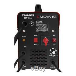 Mig Mag Kombischweißgerät 155 Ampere Schutzgas Mma E-hand Schweissgerät Inverter