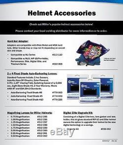 Miller 259485 Vintage Roadster Digital Elite Auto Darkening Welding Helmet