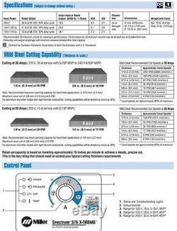 Miller Spectrum 375 X-treme Plasma Cutter 907529