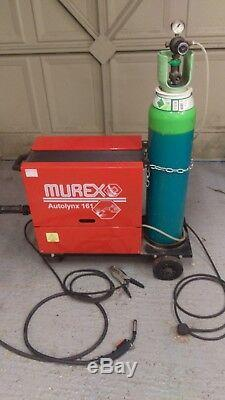 Murex Autolynx 161 Single Phase MIG Welder 20-130A