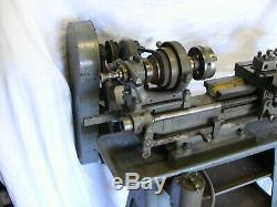 Myford Drummond M Type Metal Lathe Nice Unmolested Example With Full Guarding