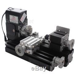 NO VAT 24W Mini Metal Drehbank Lathe Machine Woodworking DIY Tool ModelMaking