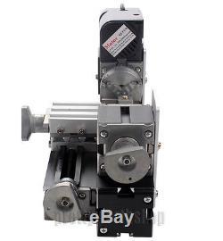 NO VAT 24W Mini Metall Drehbank Drehmaschine Lathe DIY Model Woodworking Tools