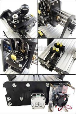 NO VAT DIY Mini 3 Achse CNC Router Fräsmaschine Wood Milling Carving Engraving