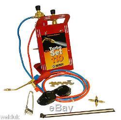 OXYTURBO 110 Gas Welding & Brazing Mini Portapack C/W Oxy / Mapp Gas E62