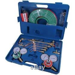 Oxy Acetylene Gas Welding Cutting Kit Set Oxygen Regulator Torch Set Ct2317
