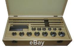 PAULIMOT HSS-Räumnadel-Set für 4, 5, 6 und 8 mm Keilnuten