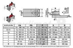 PAULIMOT Schnellwechsel-Stahlhalter-Set Drehbank, System Multifix, Größe A