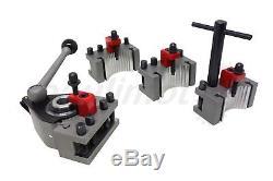 PAULIMOT Schnellwechsel-Stahlhalter-Set Drehbank, System Multifix, Größe Aa