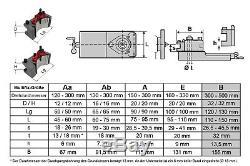 PAULIMOT Schnellwechsel-Stahlhalter-Set Drehbank, System Multifix, Größe B