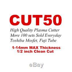 PLASMA CUTTERS 230V 50A STEEL COPPER DC WELDERS AIR CUTTERS MACHINE 14mm MAX CUT
