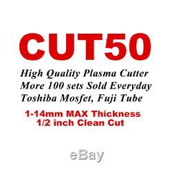 PLASMA CUTTING CUT50 HF start 60% duty cycle / plasma cutter power up to 14mm
