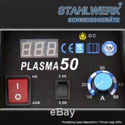 PLASMASCHNEIDER STAHLWERK CUT 50 S HF INVERTER / PLASMASCHNEIDGERÄT bis 12 mm