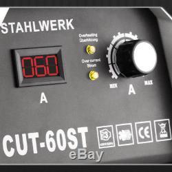PLASMASCHNEIDER STAHLWERK CUT 60 ST HF INVERTER / PLASMASCHNEIDGERÄT bis 20 mm