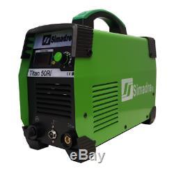Plasma Cutter IGBT Simadre Titan 50 Amp 110/220V 1/2 Clean Cut 50Ri 60 TIPS