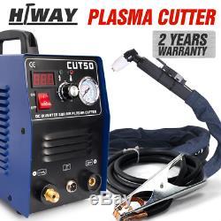 Plasma cutter 50A CUT50 Inverter DIGITAL & accessories 240V & torches 1-14mm cut
