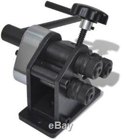 Professional Manual Roll Bending Machine Metalworking Milling Welding DIY Tools