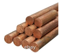 Pure Copper Round Bar Copper Rod Milling Welding Metal working