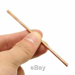 QTY x 1 Copper Round Bar Rod Milling Welding Metalworking 3mm x 97mm Length