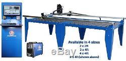 R-Tech CNC Plasma Cutter System 4x4ft 240V 50Amp