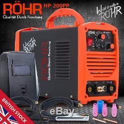 ROHR Welder Welding Inverter TIG MMA MOSFET Portable ARC 200amp (HP-200PP-02)