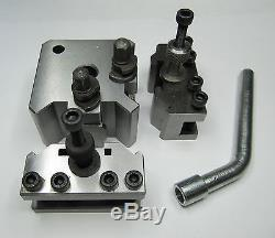 Rdgtools 3pc Quick Change Toolpost For Myford Lathe