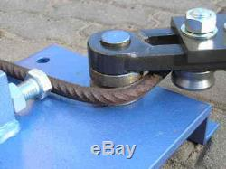 Rebar, Round Bar, Flat Bar, Square Profile Bending Tool, Bender See Video