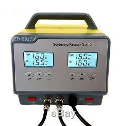 Regelbare digitale Lötstation ZD-8917-ESD Entlötkolben Entlötstation Lötkolben