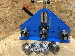 Roller Bender / RING ROLLER Flat Bar Tube Pipe Profile Bender Box Section