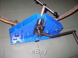 Roller bender flat bar. Square profile, round bar, pipe bender, ring roller