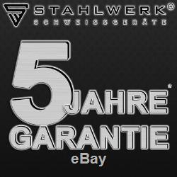 SCHWEIßGERÄT STAHLWERK ARC 200 ST IGBT-MMA/E-HAND INVERTER mit TATSÄCHLICH 200 A