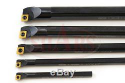 SHARS. 315 3/8 1/2 5/8 3/4 SCLCR Indexable Boring Bar Set NEW