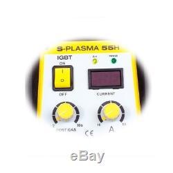 STAMOS Plasmaschneider Cut Plasma 55A 16Mm Inverter Plasmaschneidgerät Luft