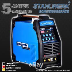 Schweißgerät Ct 520 Puls S DC Wig Inverter Pulsfunktion E-hand Plasmaschneider