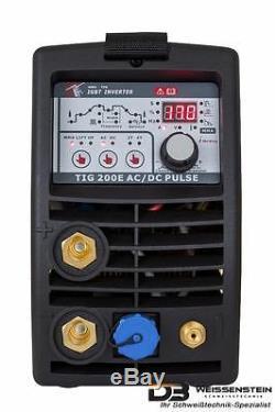 Schweißgerät Inverter AC/DC/WIG/TIG/MMA 200A ALU starkebis 6 mm PFC