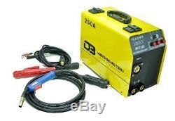 Schweißgerät Inverter MIG/MAG/MMA/ARC 250A (ohne GAS) + GRATIS 1 Kg Fülldraht