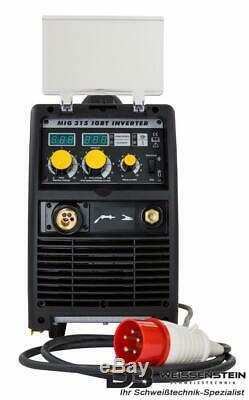 Schweißgerät inverter MIG MAG 315A IGBT 4 Rollen Drahtvorschub Drahtspule 18 kg
